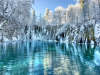 Snježna bajka na Plitvicama
